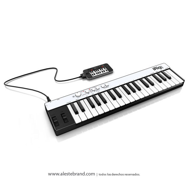Teclado controlador universal IRIG Keys para (Ipad / Ipod touch / Iphone / PC / Mac)