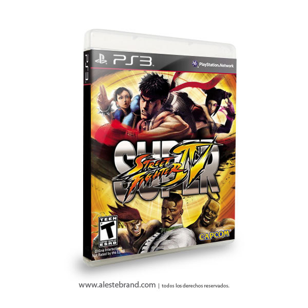 Super Street Fighter 4 - PS3
