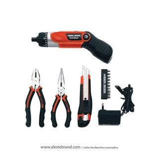 Set de atornilladores Black & Decker HDT51 901