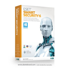 ESET Smart Security 6 - 1PC Licencia electronica digital - comprar online