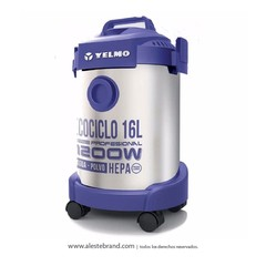 Aspiradora Yelmo 1200W 16L AS 3314
