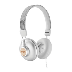 Auriculares House Of Marley Positive Vibration 2 Blanco - comprar online