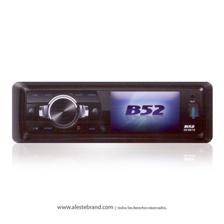 Autoestéreo B52 208W USB Video MP3 Bluetooth DV-8615