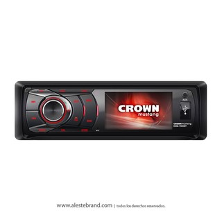Autoestereo Crown Mustang Video Mp3/SD USB DSM-7000BT