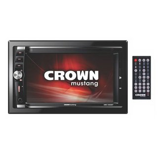Autoestereo Multimedia Crown Mustang Táctil Dmr-10000bt