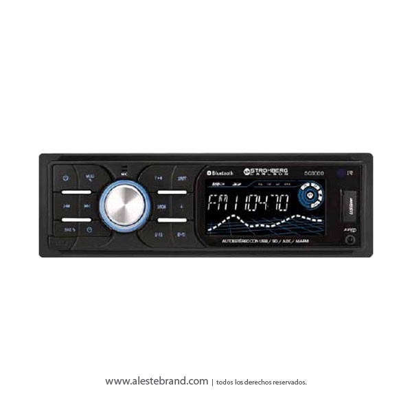 Autoestereo Stromberg Carlson 25W Bluetooth SC9002