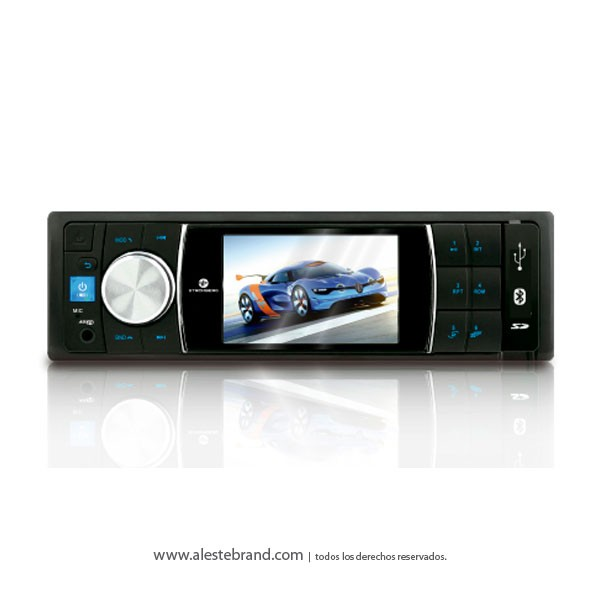 Autoestereo Stromberg Carlson USB/AUX/BLUETOOTH/MP4 PANTALLA TFT 3