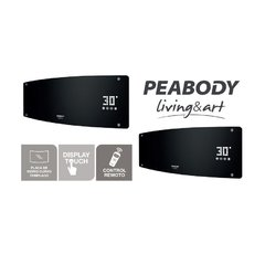 Caloventor de pared Peabody 2000W PE-CV20 Negro en internet
