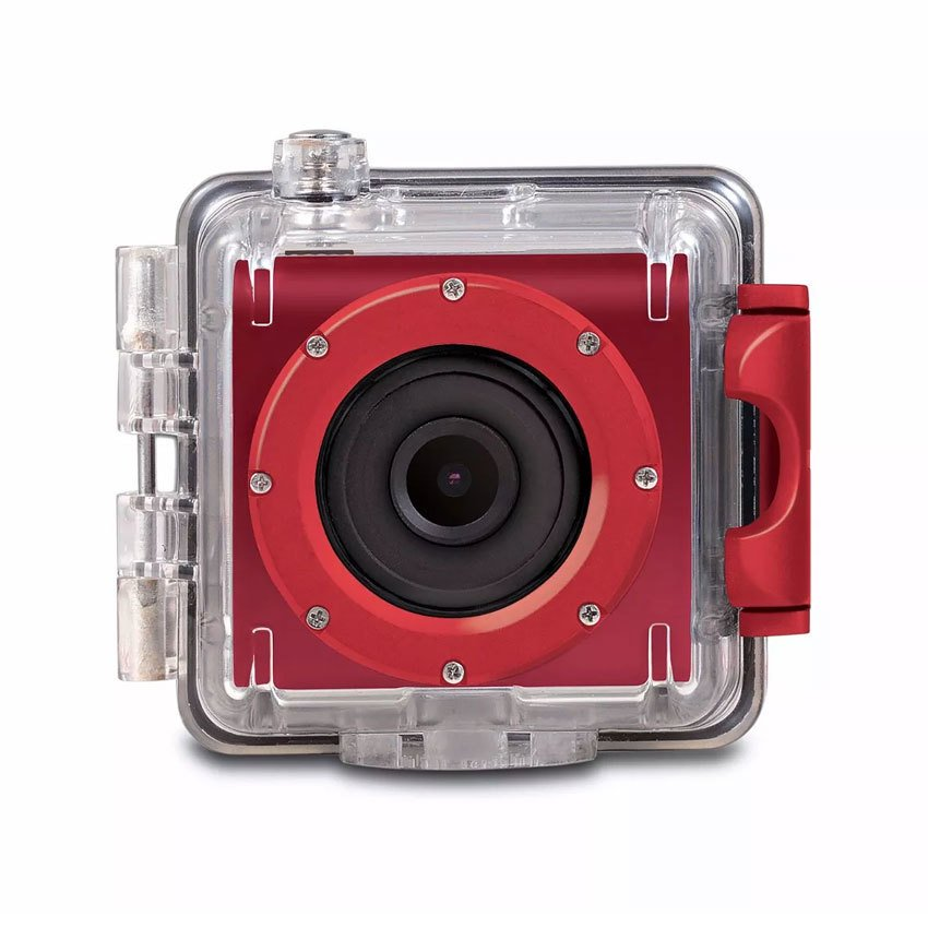 Camara Deportiva X-View Cube Go Action Pro Hd Sumergible Roja