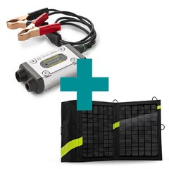 Cargador Goal Zero Guardián 12V plus + Panel solar Nomad 13