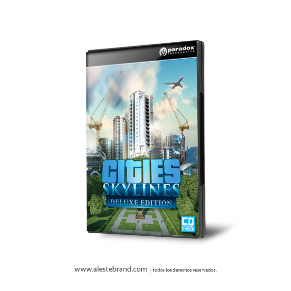 Cities: Skylines Deluxe Edition PC Digital