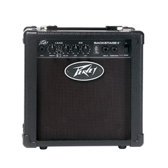 Combo Peavey Guitarra Single Cut Black SC-1 + Amplificador - Alestebrand / Tu sitio de compras