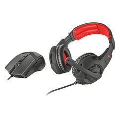 Combo Trust Gaming Auricular + Mouse GXT 784  PC