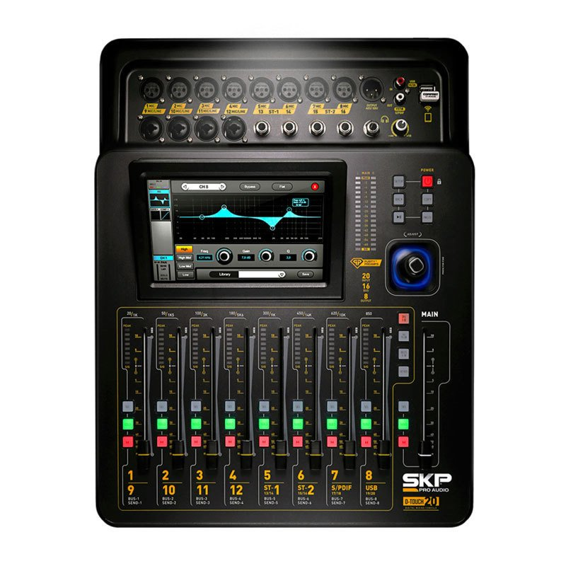 Consola mixer digital SKP D-Touch 20