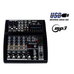 Consola Mixer 6 Canales Moon Mc602 Usb en internet