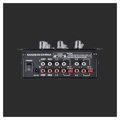 Consola Mixer Dj Moon Usb 2 Canales Mp3 MDJ206USB en internet