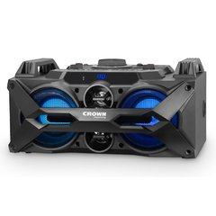 Equipo multireproductor portátil Crown Mustang Bluetooth CMA402BT