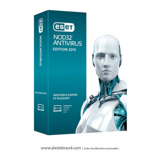 Eset NOD 32 Antivirus 2015 1 PC Licencia Digital