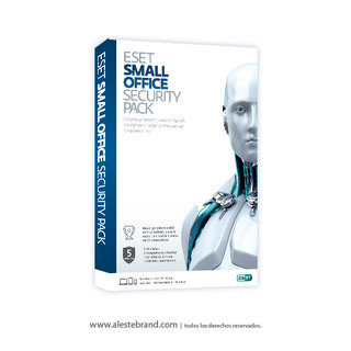 Eset Small Office Security Pack 5 PC Licencia Digital