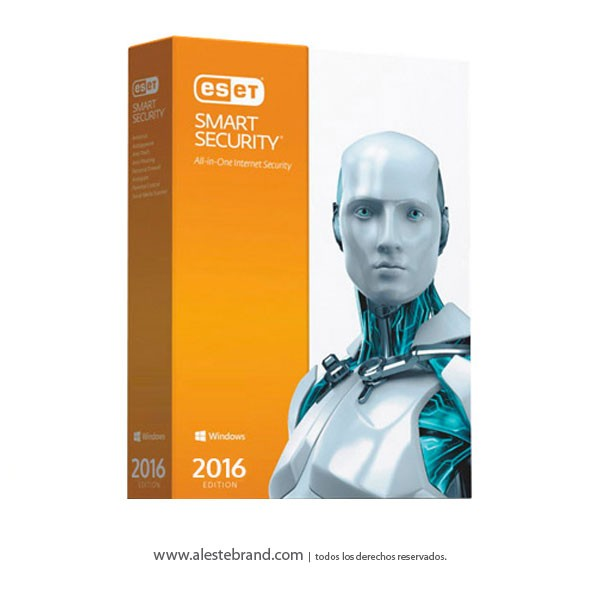 ESET Smart Security 1PC Edición 2016 Licencia digital