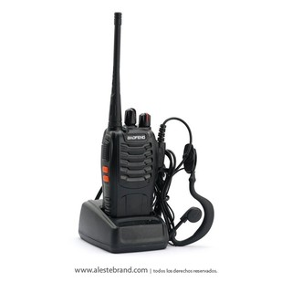 Handy Radio Baofeng Bf-888s Uhf 16 Canales Programables