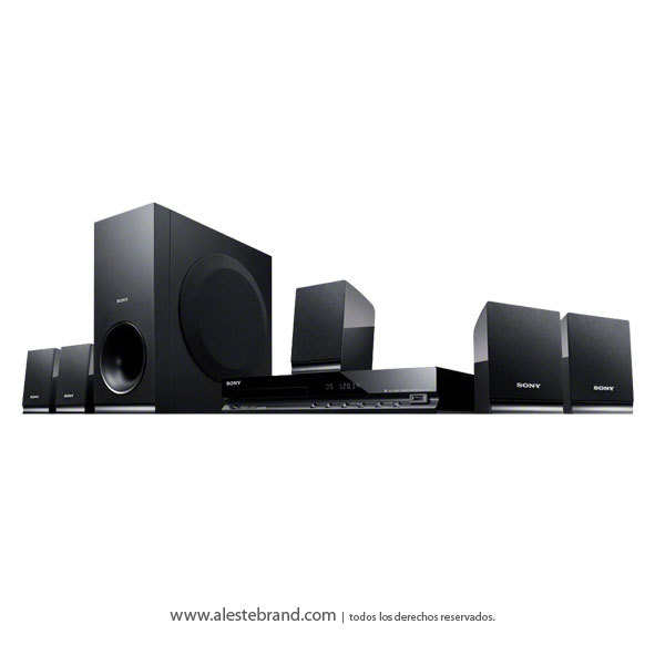 Home Theatre Sony 5.1 DAV-Tz140 + HDMI CD DVD 2 X USB 300W