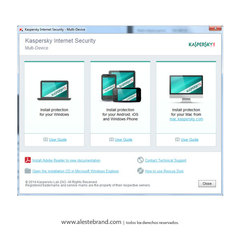 KASPERSKY Internet Security 2015 3 PC Licencia Digital - comprar online