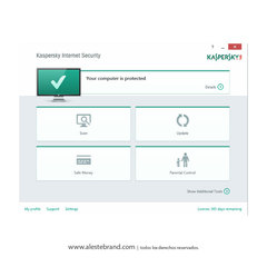 KASPERSKY Internet Security 2015 3 PC Licencia Digital en internet