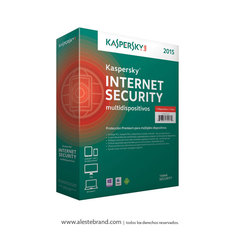 KASPERSKY Internet Security 2015 3 PC Licencia Digital