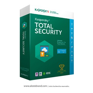 KASPERSKY Total Security 2016 3 PC 1 AÑO Licencia Digital