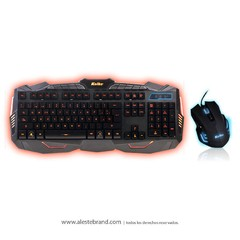 Kit Teclado + Mouse Gaming Pro Dragón Series Kolke KTMIG-531