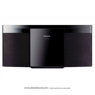 Minicomponente Panasonic SC-HC19PR-K USB CD