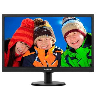 "Monitor LED Philips 18.5"" HD V-Line 193V5"