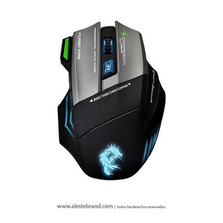 Mouse Gamer Thor G9 Elephant Laser 3200 Usb + Pad Dragon War