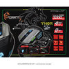 Imagen de Mouse Gamer Thor G9 Elephant Laser 3200 Usb + Pad Dragon War
