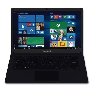 Notebook Viewsonic Viewbook 14 Plus negra
