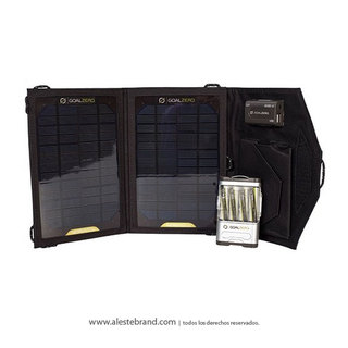 Panel Solar Goal Zero Guide 10 Plus Adventure Kit
