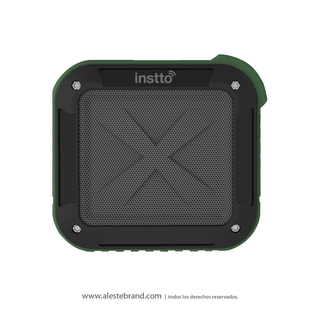 Parlante Instto Outdoors Bluetooth Verde