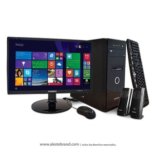 Pc Pcbox AMD Athlon 5150 + 4 Gb Ram + 500 Gb Hd + W10