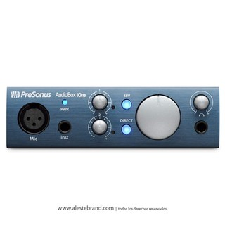 Placa de sonido Presonus Audiobox iOne