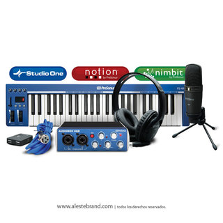 Placa de sonido Presonus Music Creation Suite
