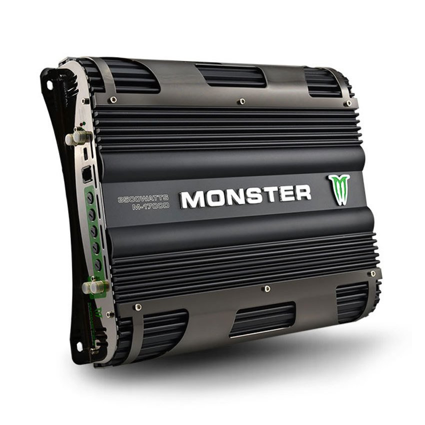 Potencia amplificador Digital Monster Sound 1 canal 3500W M1700D