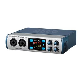 Presonus Studio 26 Usb Interface Placa Audio Midi