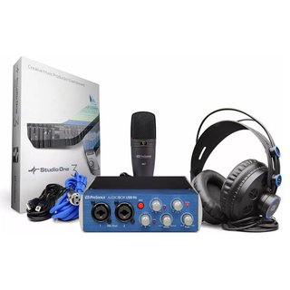 Presonus Studio 96 Set Kit Grabación Audiobox Usb Kit Pack
