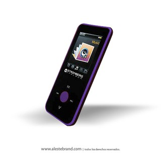 Reproductor Stromberg Carlson Mp4 / AMV Bluetooth MP464 BT Fucsia - comprar online