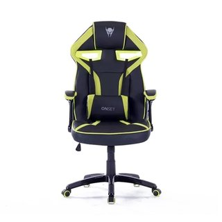 Silla Gamer Onset regulable Hammer Negra y Verde