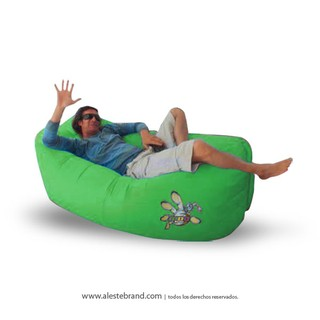 Sillón inflable MDQ Kany Verde - comprar online