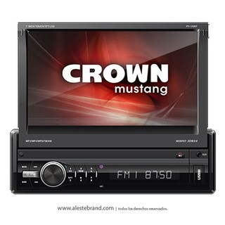Autoestereo Multimedia In Dash Crown Mustang táctil Bluetooth DMR-12000BT