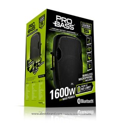 Sistema portable potenciado 1600W Under Ground 15 Pro Bass - tienda online
