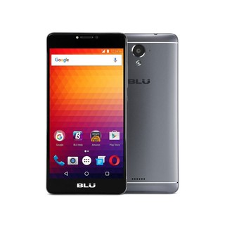 "Smartphone Blu R1 Plus Dual Sim 5.5"" HD Quad Core 4G Lte black"
